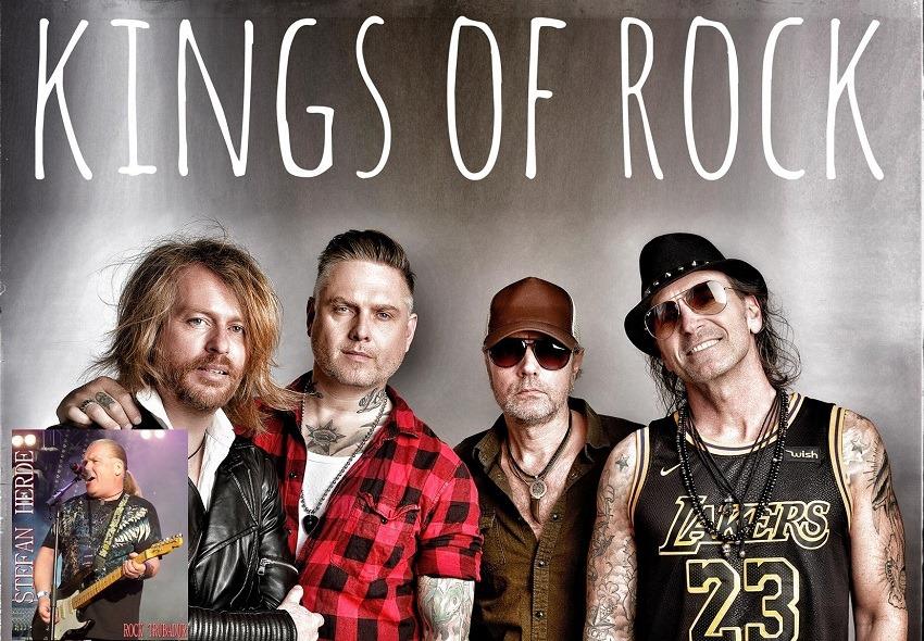Fredag den 28 Februari kommer Kings of Rock och Stefan Herde till oss! 150:- Entre, dörrarna öppnar kl 21.00.